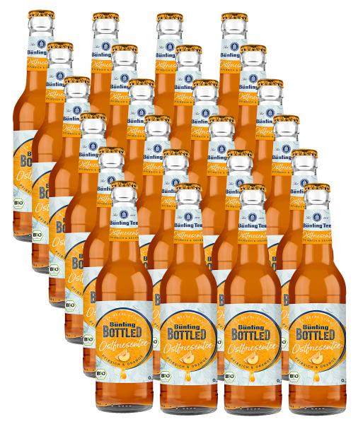 Bünting Bottled Osfriesentee Pfirsich & Orange (Mehrweg)