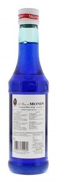 Monin Sirup Curaçao blau