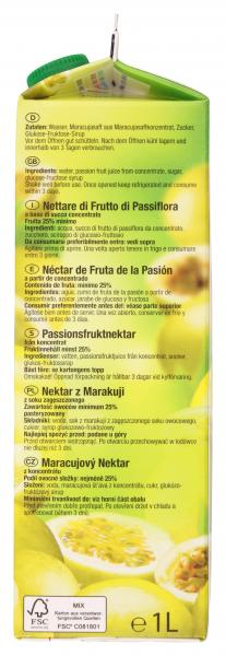 Wesergold Maracuja-Nektar