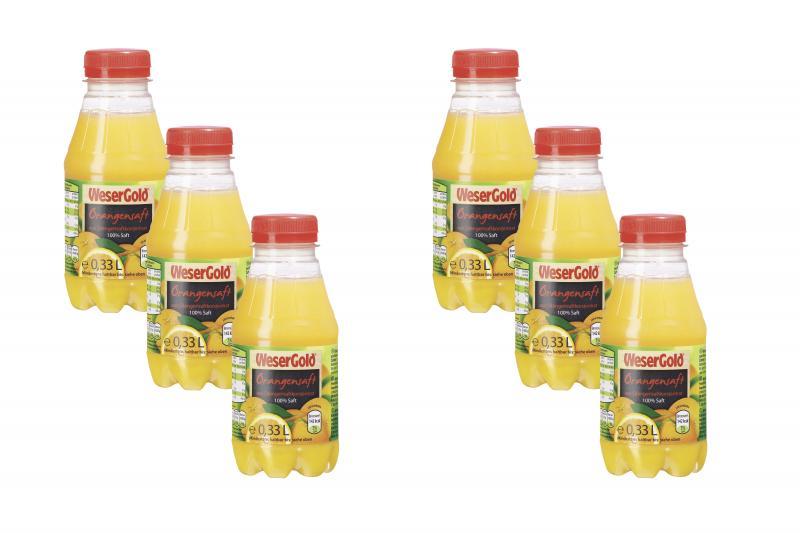 Wesergold Orangensaft