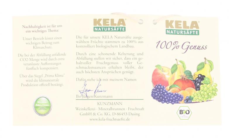 Kela Merlot Bio-Fruchtsaft