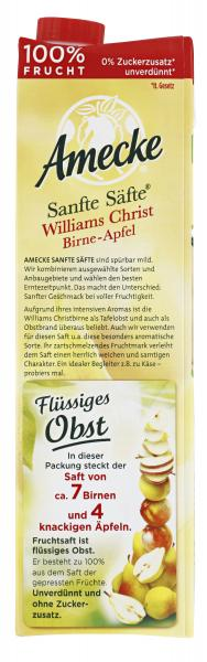 Amecke Sanfte Säfte Williams Christ Birne-Apfel