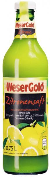 Wesergold Zitronensaft