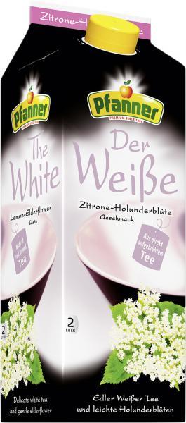 Pfanner Der Weiße Zitrone-Holunderblüte