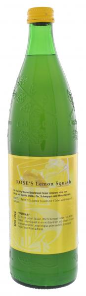 Rose's Sirup Lemon Squash