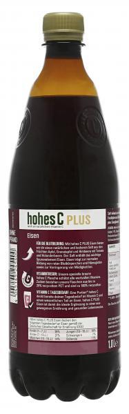 Hohes C Plus Eisen Apfel-Granatapfel-Himbeere