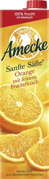 Amecke Sanfte Säfte Orange mit feinem Fruchtfleisch