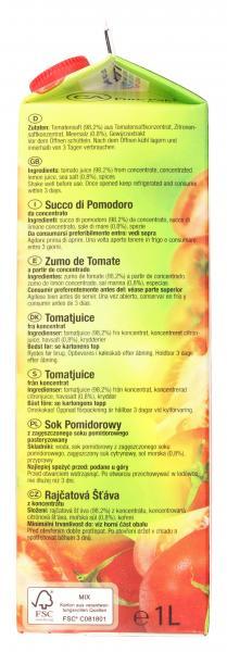 Wesergold Tomatensaft