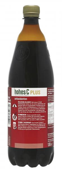 Hohes C Plus Antioxidantien Traube-Aronia-Heidelbeere