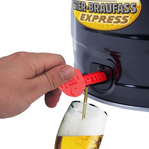 Braukönig Bier-Braufass Express Black Edition