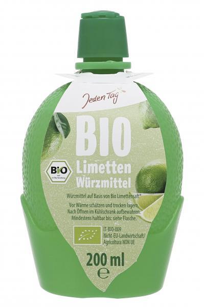 Jeden Tag Bio Limetten Würzmittel