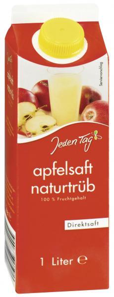 Jeden Tag Apfelsaft naturtrüb