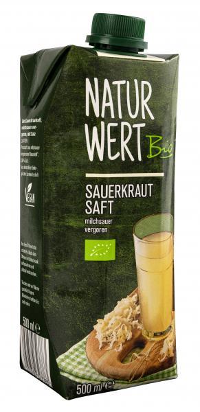Naturwert Bio Sauerkrautsaft