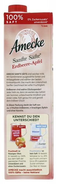 Amecke Sanfte Säfte Erdbeere-Apfel