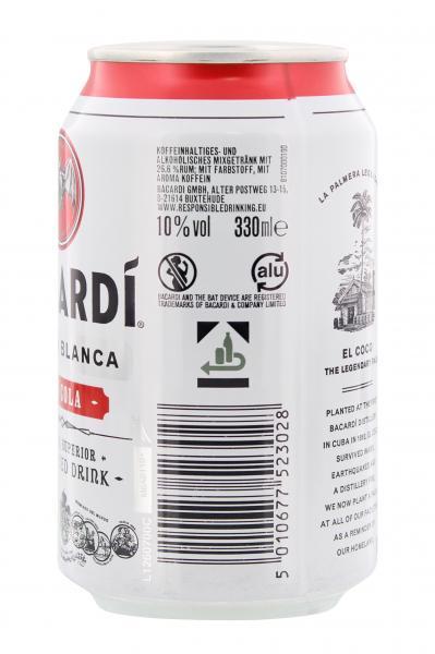 Bacardi Superior & Cola (Einweg)