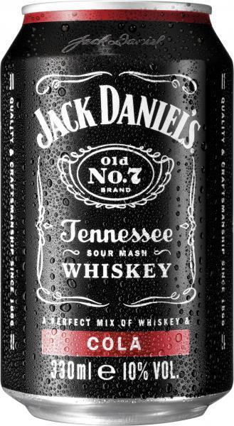 Jack Daniel's Whiskey & Cola (Einweg)