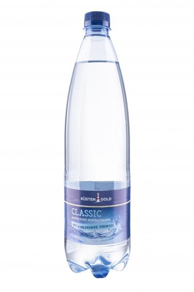 Küstengold Mineralwasser classic (Einweg)