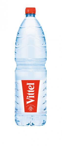 Vittel Stilles Mineralwasser Natürliches Wasser PET (Einweg)
