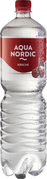 Aqua Nordic Erfrischungsgetränk Kirsche (Einweg)