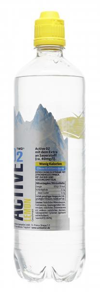 Active O2 Two Erfrischungsgetränk Lemon (Einweg)