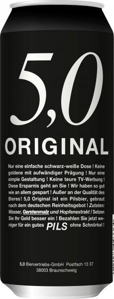 5,0 Original Pils (Einweg)