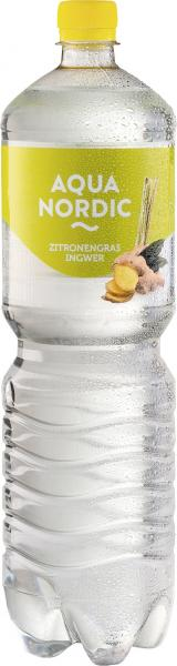 Aqua Nordic Erfrischungsgetränk Zitronengras Ingwer (Einweg)