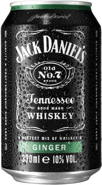 Jack Daniel's Ginger (Einweg)