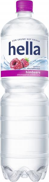Hella Erfrischungsgetränk Himbeere (Einweg)