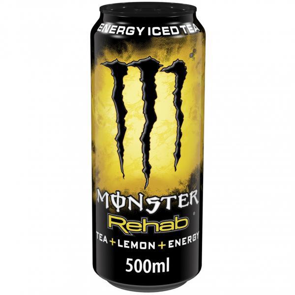Monster Rehab Tea+Lemon+Energy (Einweg)