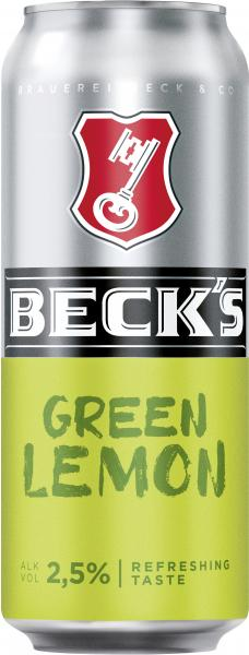 Beck's Green Lemon Dose (Einweg)