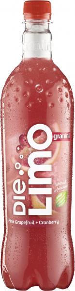 Granini Die Limo Pink Grapefruit + Cranberry (Einweg)