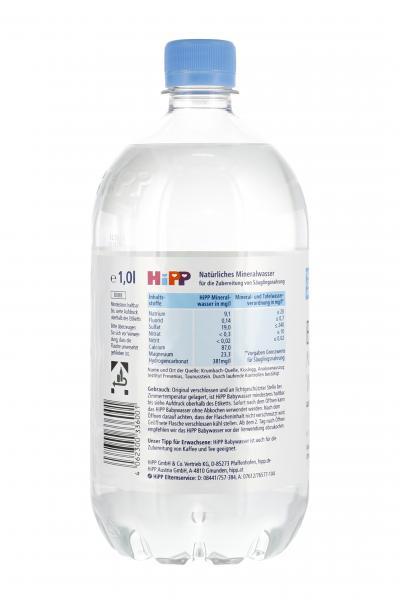 Hipp Baby Mineralwasser (Einweg)