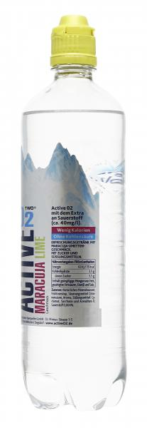 Active O2 Two Erfrischungsgetränk Maracuja Limette (Einweg)