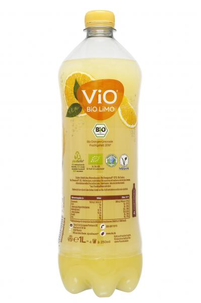 Vio Bio Limo Orange (Einweg)