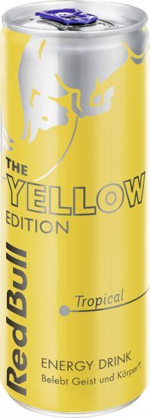 Red Bull Yellow Edition Tropical (Einweg)