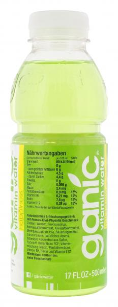 Ganic Water Vitamin Water happiness (Einweg)