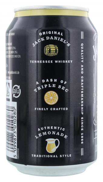 Jack Daniel's Old No.7 Lynchburg Lemonade Lemon Taste (Einweg)