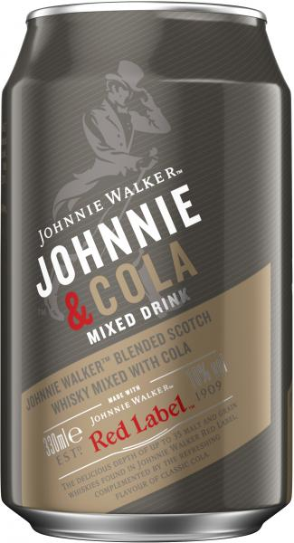 Johnnie Walker & Cola (Einweg)