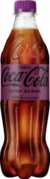 Coca Cola Cherry ohne Zucker (Einweg)