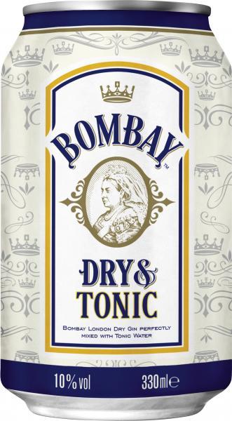 Bombay Dry & Tonic (Einweg)