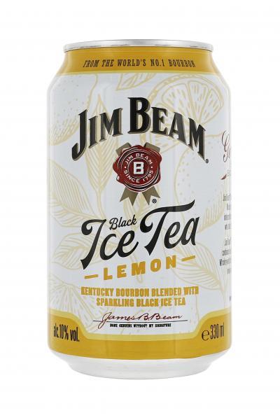 Jim Beam White & Black Ice Tea  (Einweg)