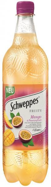 Schweppes Fruity Mango & Passionsfrucht (Einweg)