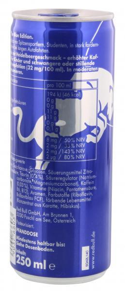 Red Bull Energy Blue Edition Heidelbeere (Einweg)