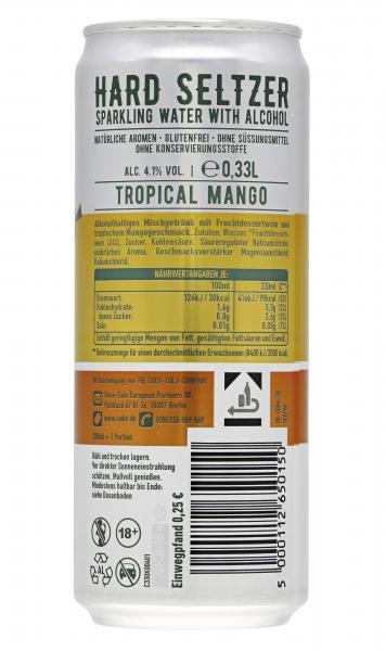 Topo Chico Hard Seltzer Tropical Mango (Einweg)
