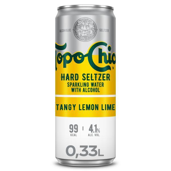 Topo Chico Hard Seltzer Tangy Lemon Lime (Einweg)