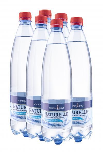 Küstengold Natürliches Mineralwasser ohne Kohlensäure (Einweg)