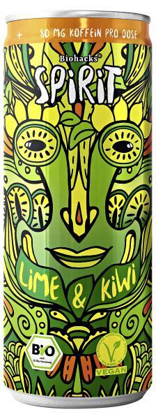 Biohacks Spirit Lime & Kiwi  (Einweg)