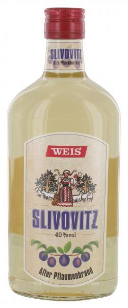 Weis Slivovitz Alter Pflaumenbrand