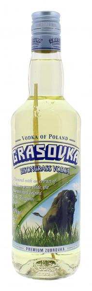 Grasovka Büffelgras Wodka