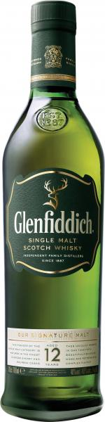Glenfiddich Single Malt Scotch Whisky 12 years